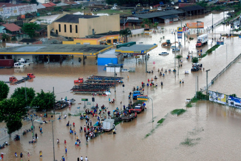 Image: Brazil flood