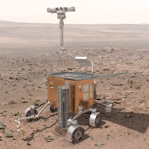 Image: ExoMars rover