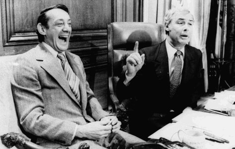 Image: Harvey Milk, George Moscone