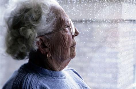 Image: Elderly woman