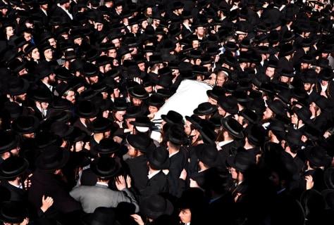 Image: Funeral service in Jerusalem
