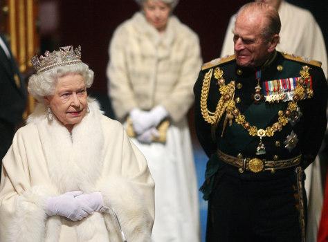 Image: Queen Elizabeth II, Prince Philip