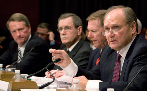 Image: Auto industry leaders testify