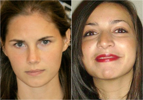 Image: Amanda Knox and Meredith Kercher