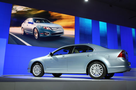 Image: Ford Fusion hybrid