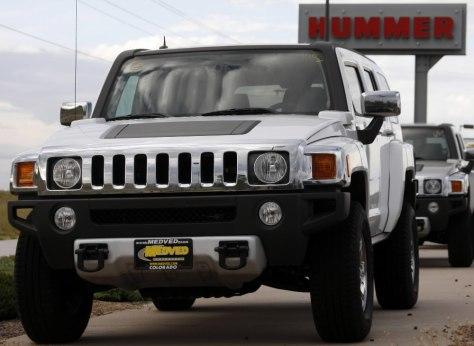 Image: 2008 Hummer H3s