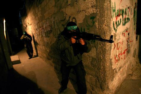 Image: Palestinian militants