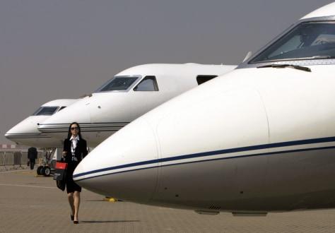 Image: Gulfstream jets