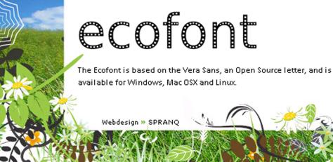 Image: Ecofont