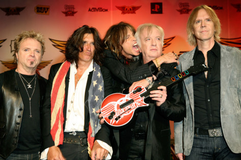 Joey Kramer, Joe Perry, Steven Tyler, Brad Whitford, Tom Hamilton