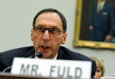 Image: Ex-Lehman Brothers CEO Richard Fuld