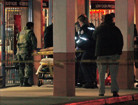 Image:  Hostage is rescued from a Chinese restaurant