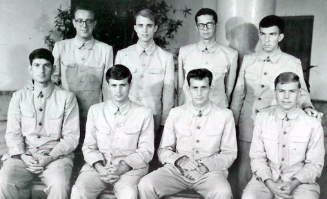 Image: Crew members of the USS Pueblo