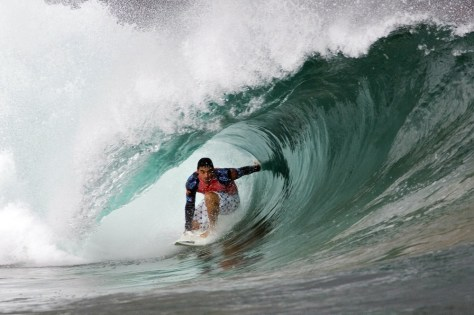 Image: Leonardo Neves of Brazil competes in Spain, in 2008.