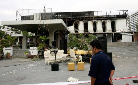 Image: Santika nightclub fire aftermath