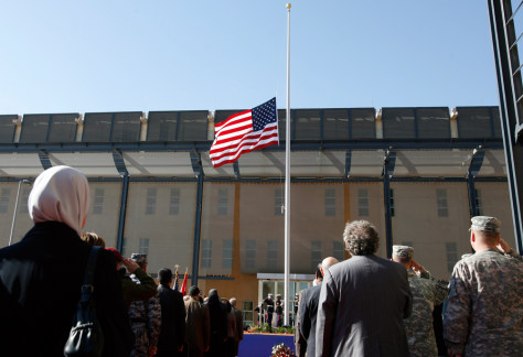 Image: Opening of new U.S. Embassy in Baghdad