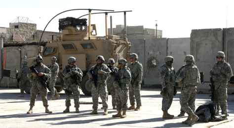 Image: U.S. soldiers in Iraq