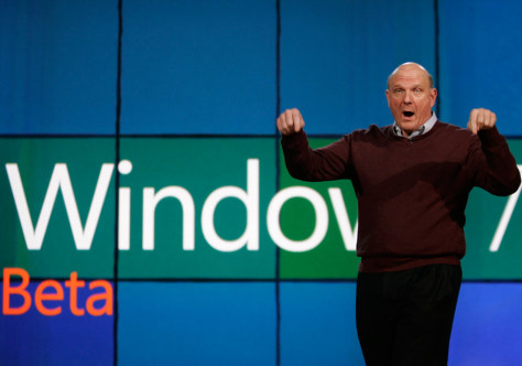 Image: CES, Consumer Electronics Show, Steve Ballmer, Microsoft