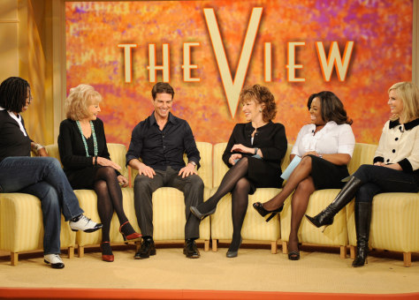 "Image: Tom Cruise on ""The View"""