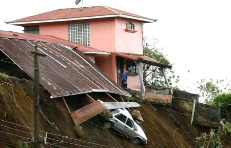 Image: Damage from Costa Rica earthquake