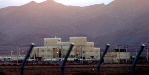 Image: Iran's Natanz nuclear plant