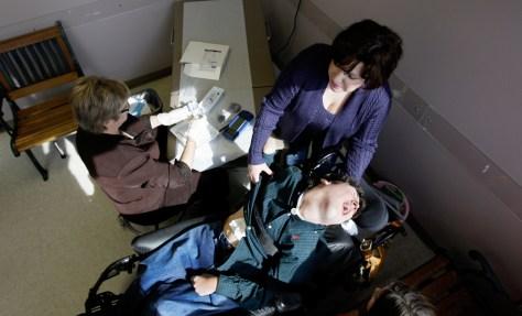 Image: Kristen Graham, Gatlin Graham, Dr. Charlotte Stelly-Seitz