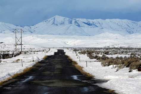 Image: Road near Jerome, Idaho
