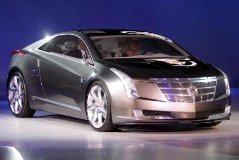 Cadillac's 'Converj' concept car