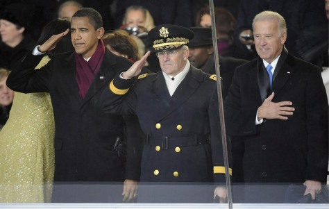 Image: Barack Obama, George Casey, Joe Biden