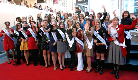 Images Miss America 2009 Contestants