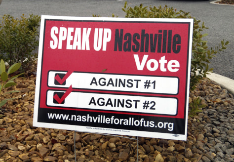Image: Yard sign in Nashville