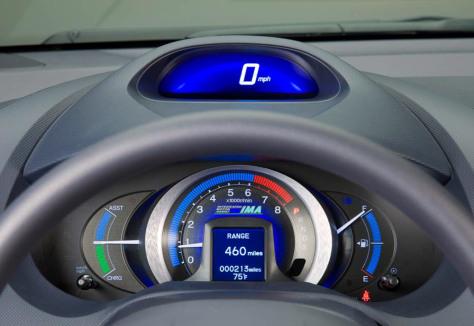 Image: Dashboard on Honda Insight