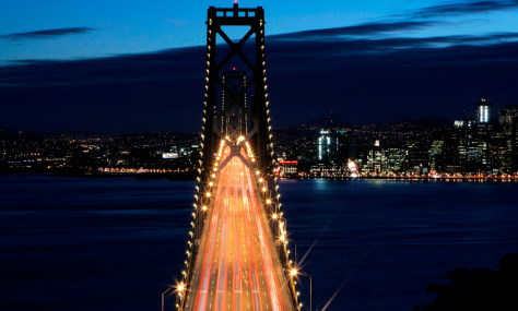 Image: Traffic on San Francisco Bay Bridge