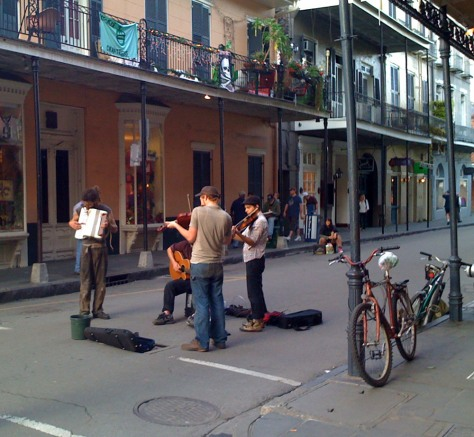 Image: Street musicians