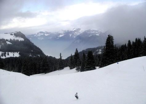 Image: Snow skier
