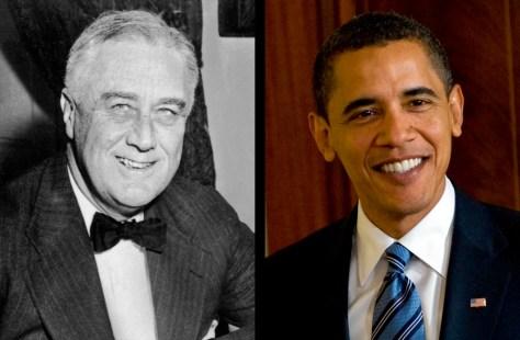 Image: FDR, Barack Obama