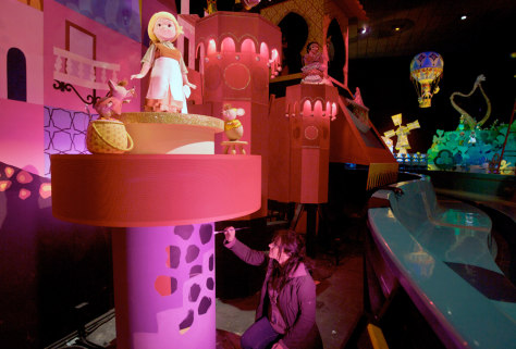 "Image: ""It's A Small World"" ride at Disneyland"