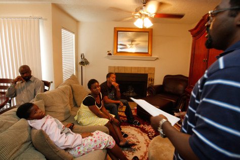 Image: An Obama House Party in Texas