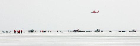 Image: Stranded fishermen
