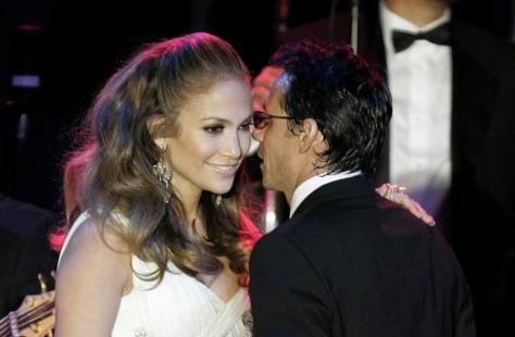 Image: Jennifer Lopez, Marc Anthony