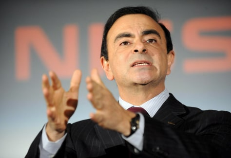 Image: Nissan CEO Carlos Ghosn