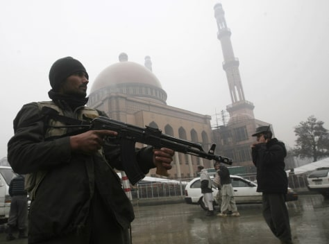 Image: Kabul checkpoint
