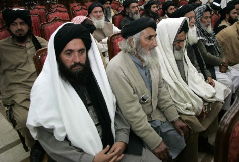 Image: Political meeting in Pakistan's Swat Valley