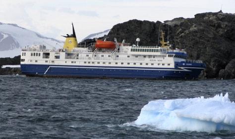 Image: Ocean Nova aground