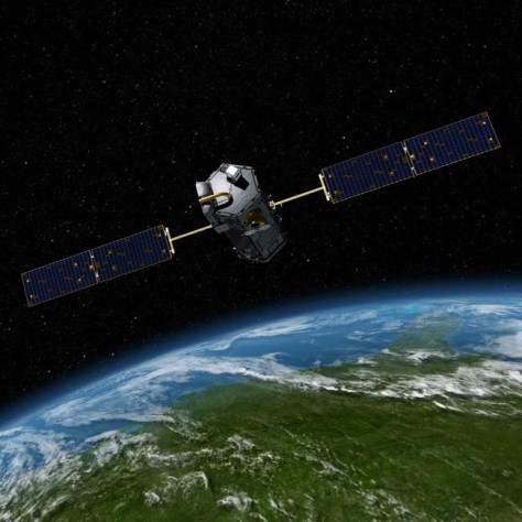 Image: Orbiting Carbon Observatory