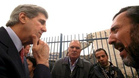 Image: US Senator John Kerry visits Gaza