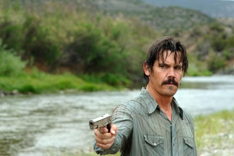 "Image: Josh Brolin as Llewelyn Moss in ""No Country for Old Men"""