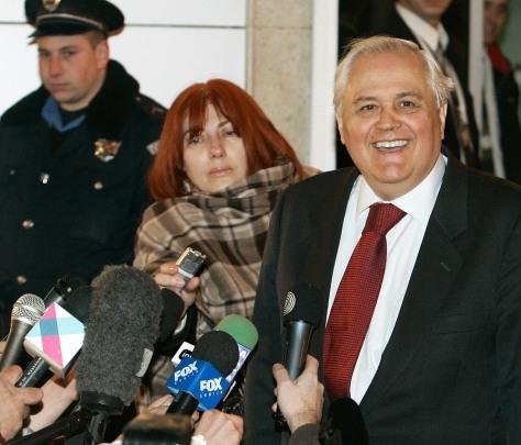 Image: Serbia's former President Milan Milutinovic