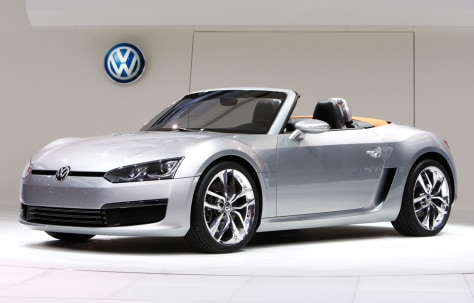 Image: Volkswagen Bluesport Roadster concept car