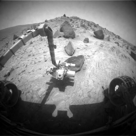 Image: Mars rover Spirit